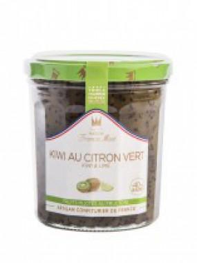 confiture kiwi citron vert