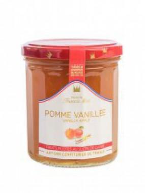 confiture pomme vanillée